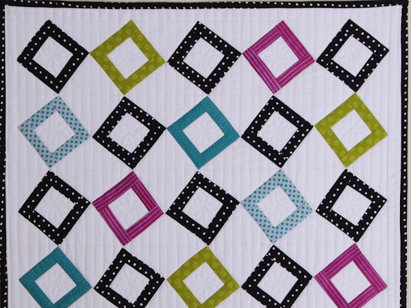 Small Wall Quilt #4 --Squares