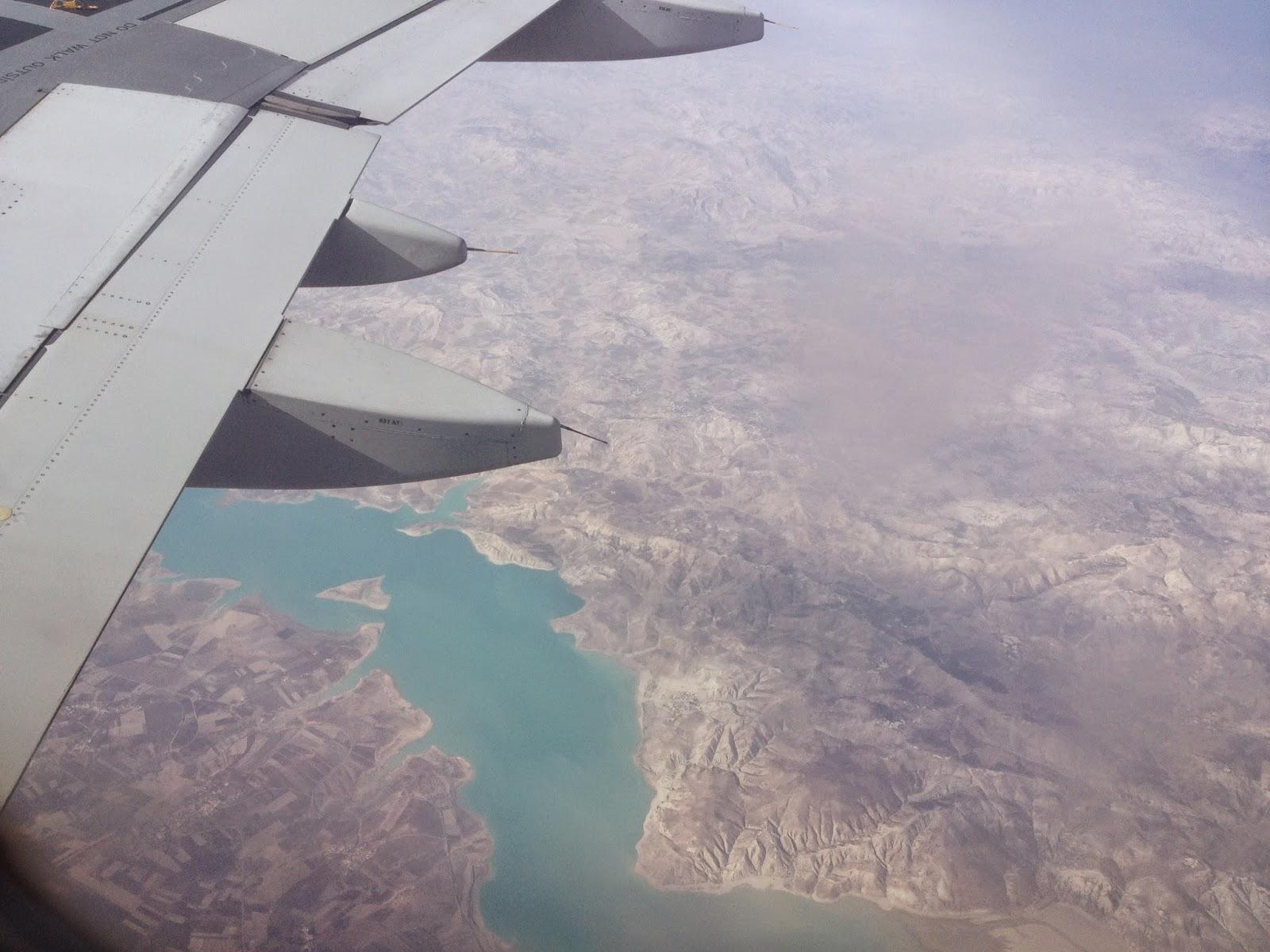 In volo sull'Africa con Alitalia