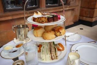 Harrods Tea Room, scones, Marla Gentry
