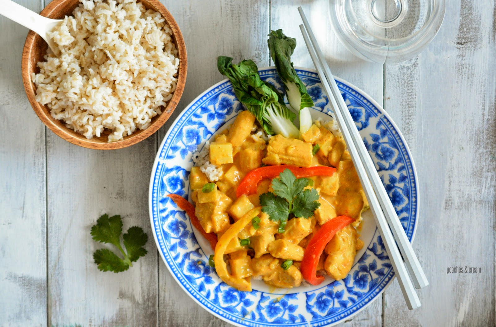 Coconut Chicken& Vegetable Curry