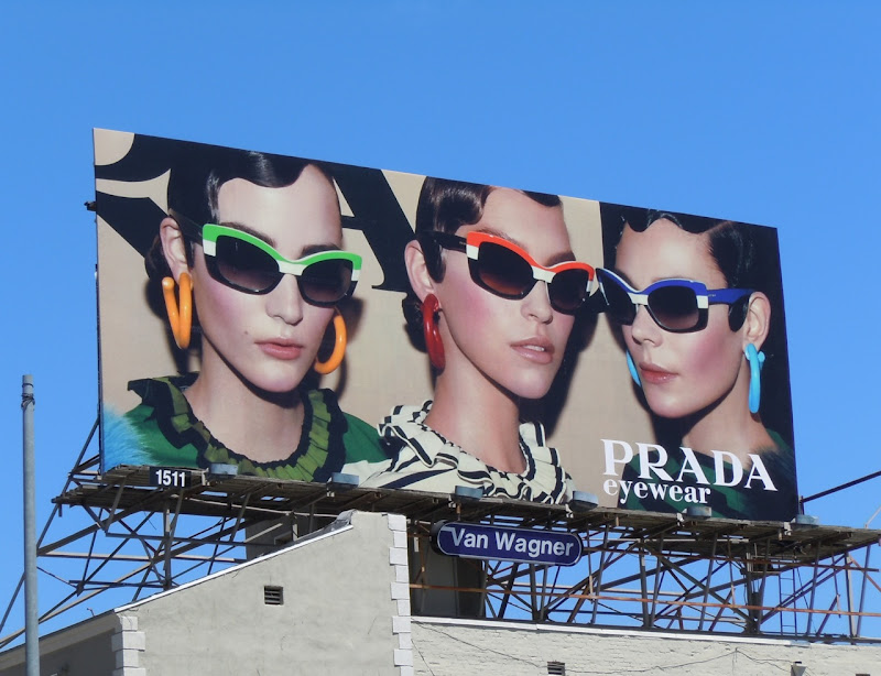 Prada Eyewear billboard