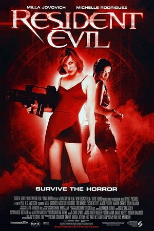 Resident Evil 1 (2002) Full Movie Dual Audio [Hindi+English] Complete Download 480p
