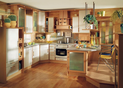 Contemporary Kitchen Interior Design Classic Style