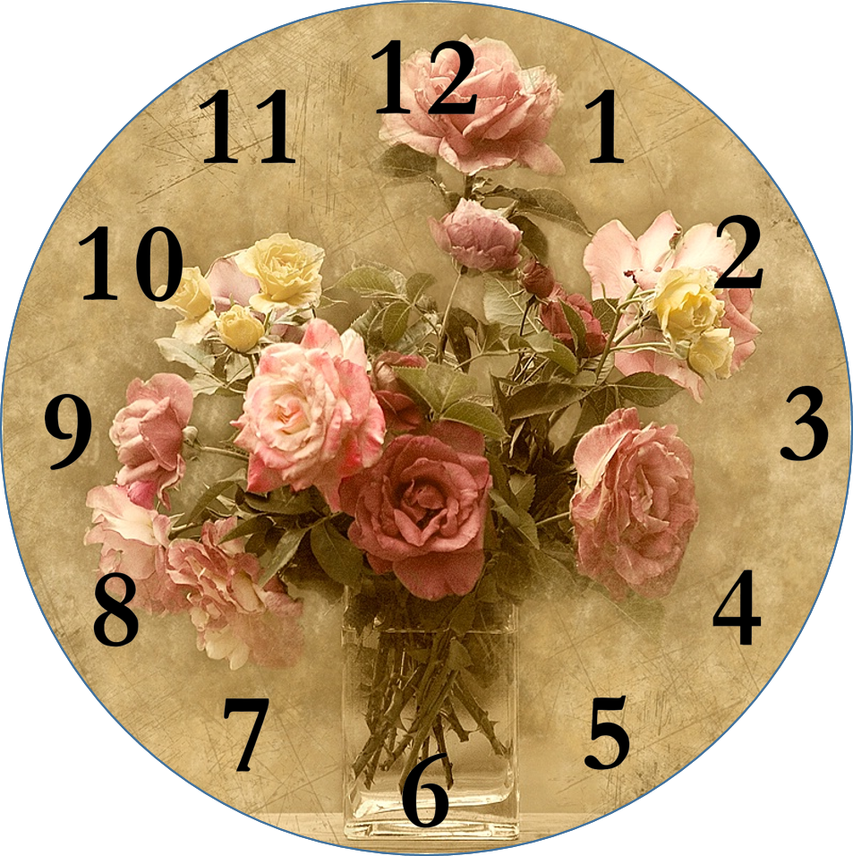 It is a picture of Unusual Clock Face Designs