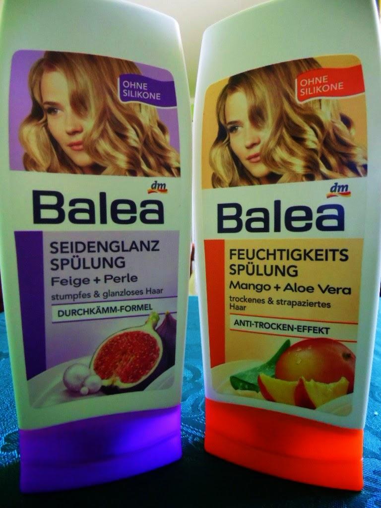 Odżywki Balea: Figa i Perła vs. Mango i Aloes. Która lepsza?
