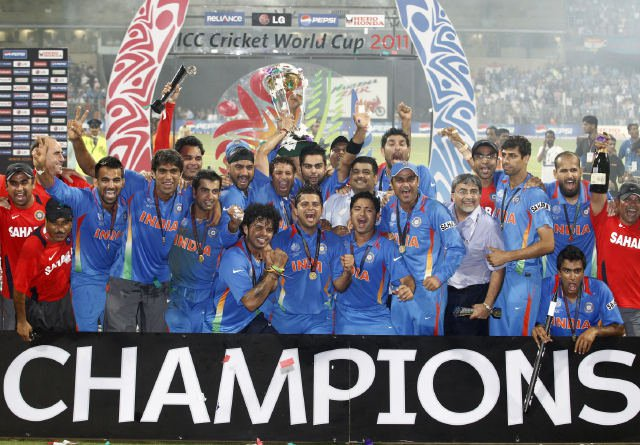 India Won Icc Cricket World Cup 2011 Pictures Pictures Of