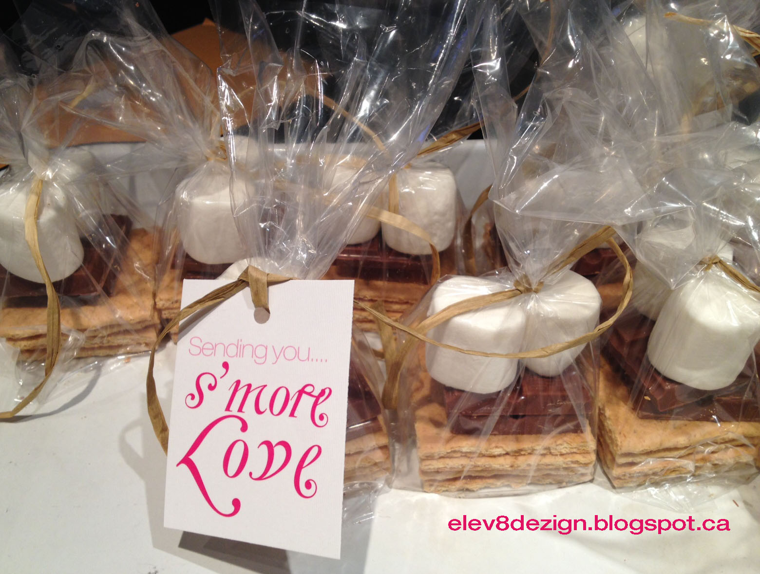 elev8 dezign: S'more Wedding Favors