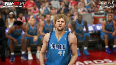 NBA 2K14 Dirk Nowitzki Next-Gen