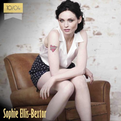 10 de abril | Sophie Ellis-Bextor - @SophieEB | Info + vídeos