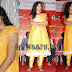 Anjali in Yellow Netted Salwar Kameez