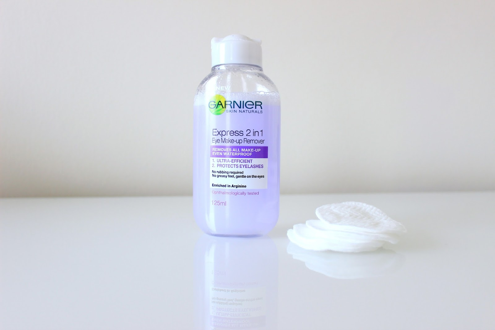 Beauty Toolkit Garnier Express 2 In 1 Eye Make-up Remover