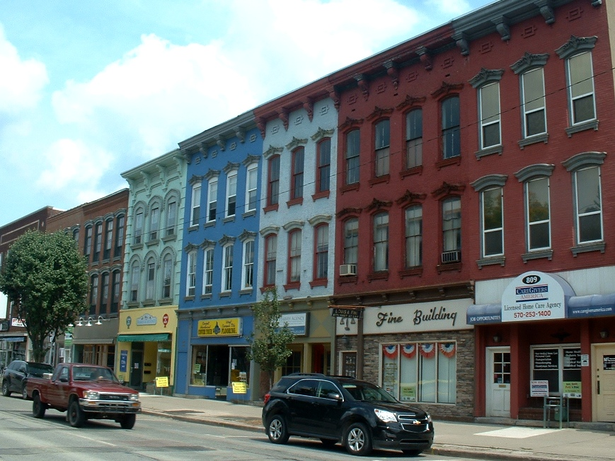 Frank S Place Main Street Honesdale