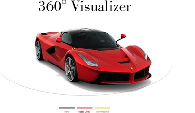 Ferrari Launches Online Configurator for new LaFerrari