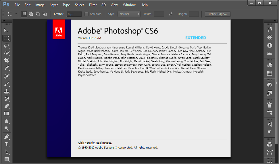 how to write in photoshop cs6