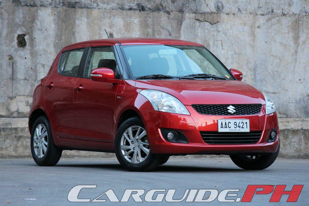 review 2015 suzuki swift 1 2 a t philippine car news car reviews rh carguide ph 1990 Suzuki Swift Suzuki Celerio