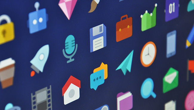 icon pack to download free flat design