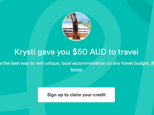 $50 off 1st Airbnb stay!