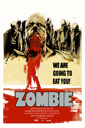 Lucio Fulci's Zombie (1979) The Horror Club Zombie Zodiac 300x450 Movie-index.com