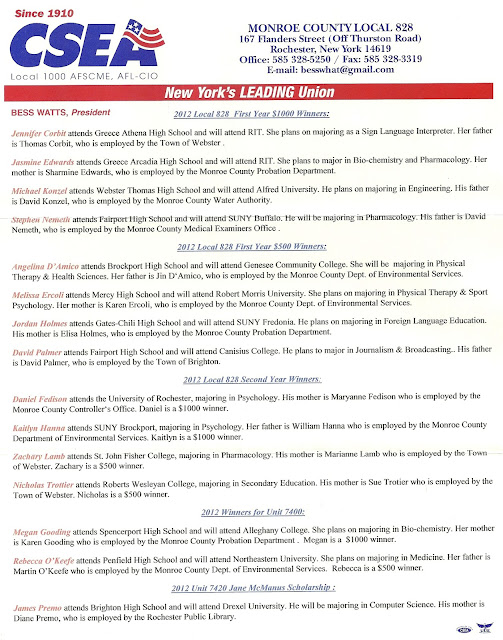 2012 csea scholarship winners essay