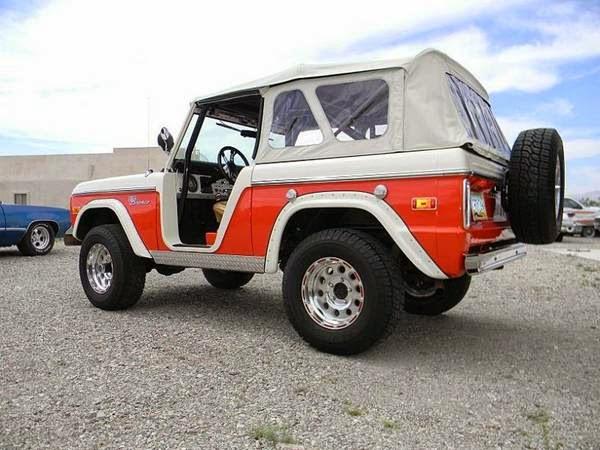 Classic Suv 1974 Ford Bronco Auto Restorationice
