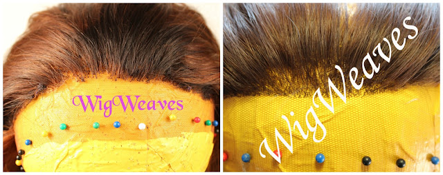 Repairing a Lace Wig Hairline