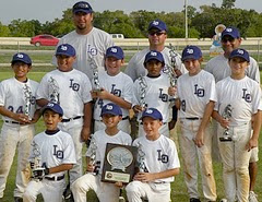 Tournament Champions - Alamo City Select Baseball, San Marcos, Sept 2009
