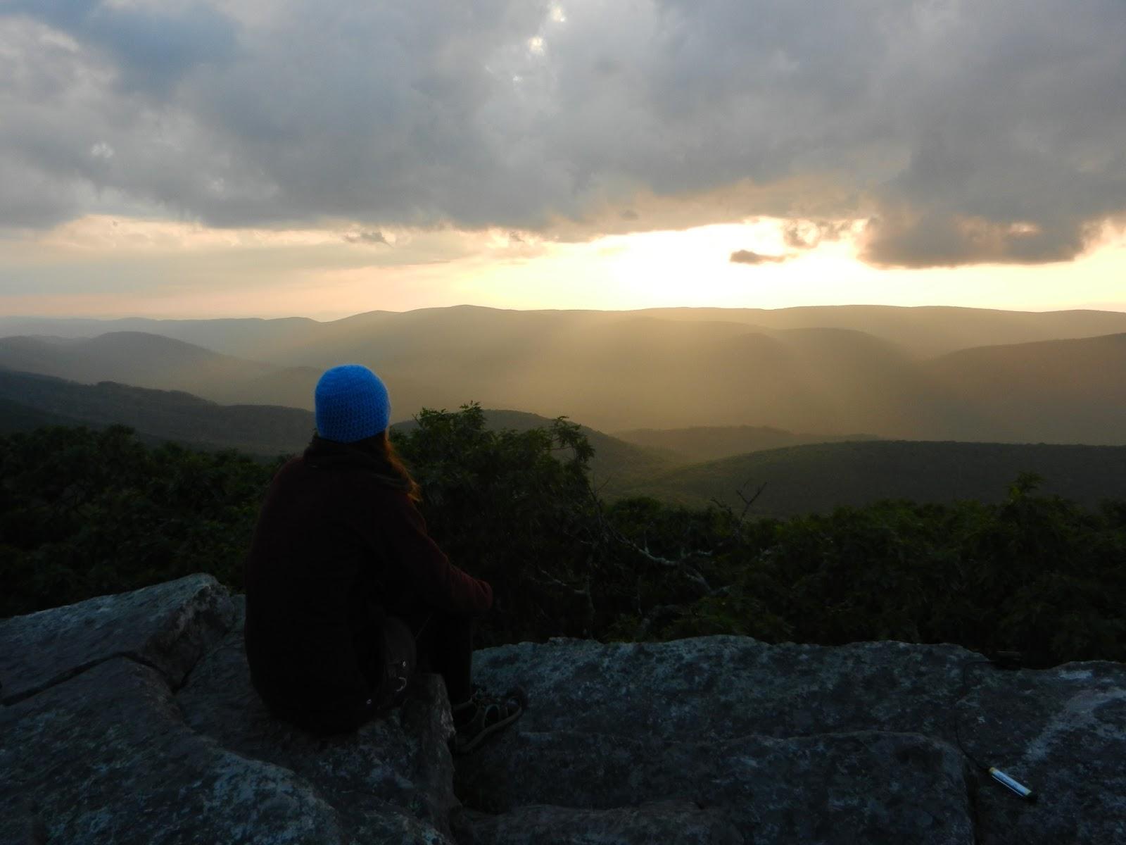Keep Moving Forward Hiking Rocks