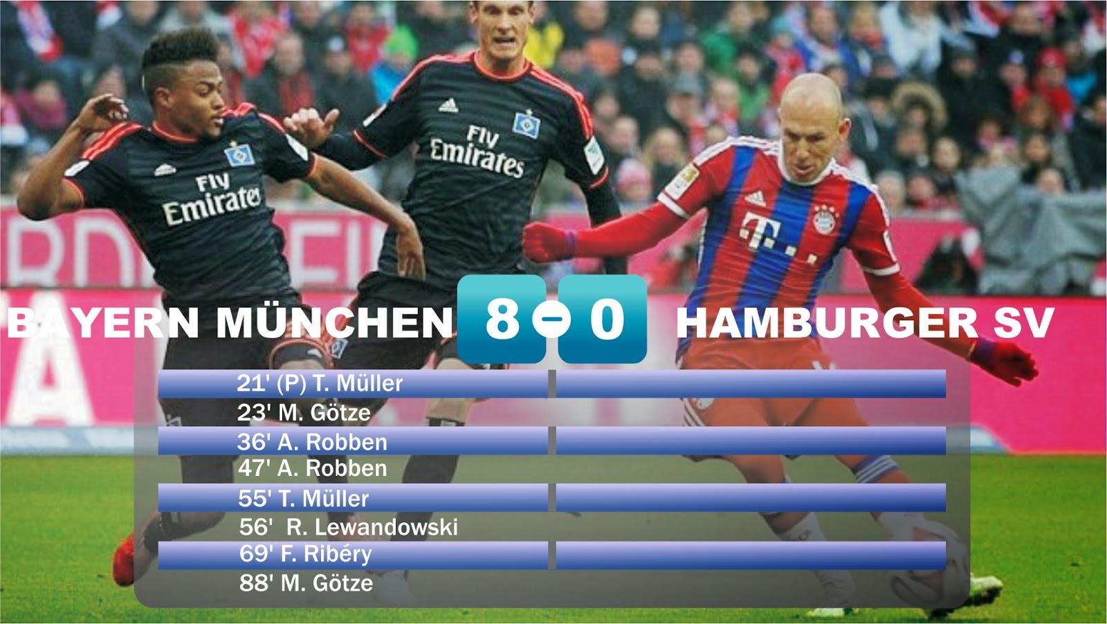 bayern hamburg highlights