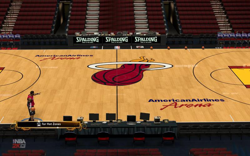 Miami Heat Basketball Court