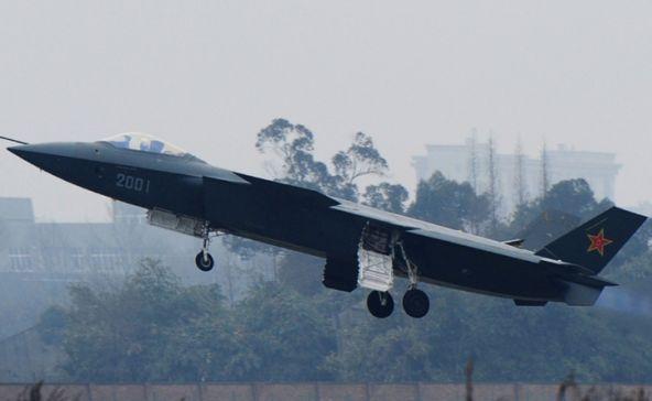 pesawat tempur siluman Cina