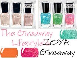Zoya giveaway