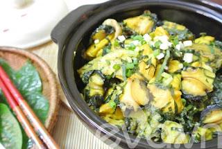 Ốc nấu chuối đậu ngon miễn chê