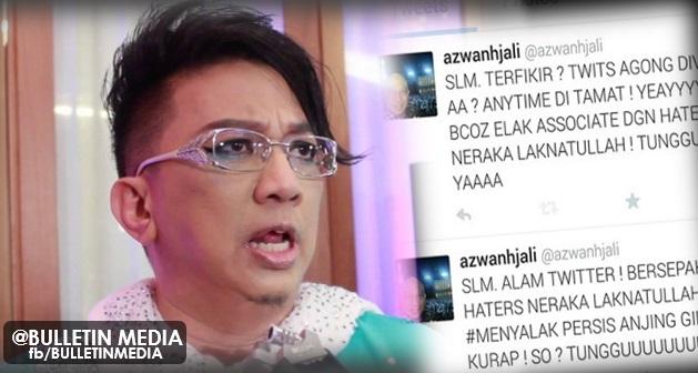 Dikecam Teruk, Azwan Ali Tekad Tutup Akaun Twitter ?..