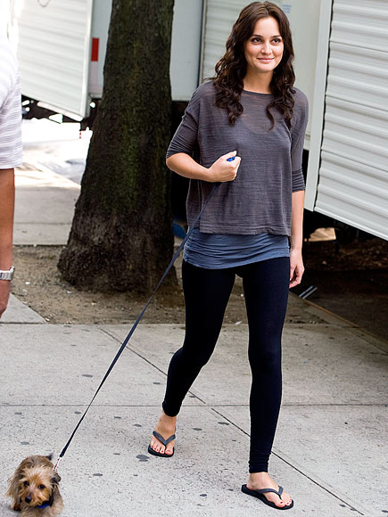 cardigans and couture leighton meester street style