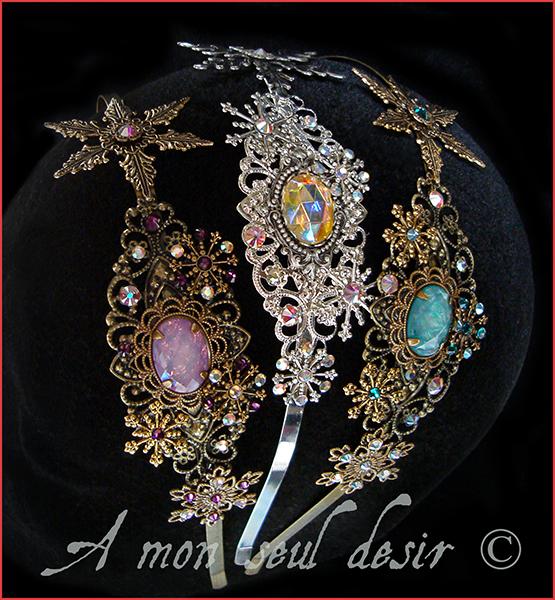 Bijoux Flocons de Neige Cheveux La Reine des Neiges Princesse Elsa Frozen Cristaux Glace Hiver Libérée Délivrée