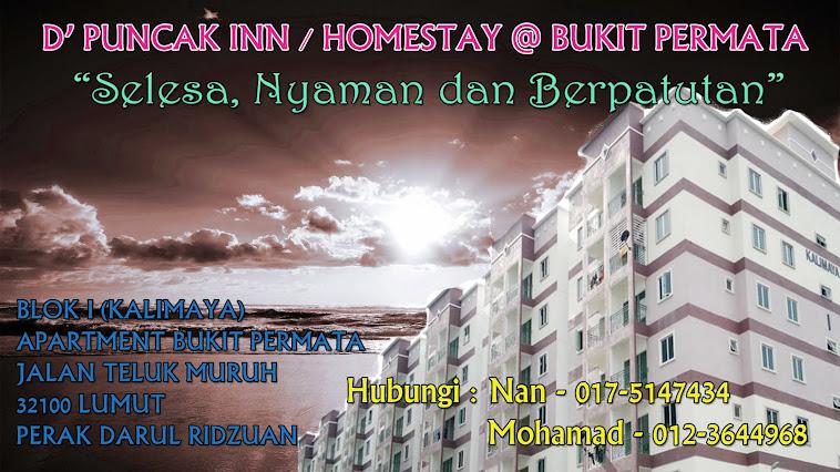D' Puncak Inn/Homestay@Apartment Bukit Permata Lumut