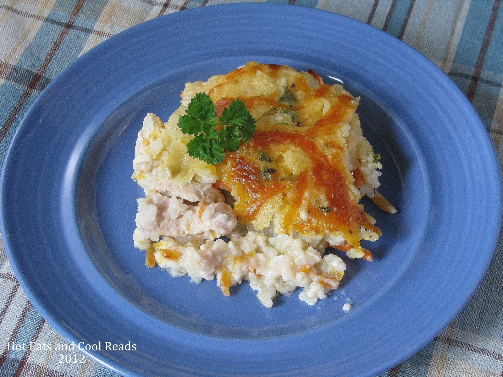 Hot Eats and Cool Reads: Chicken and Rice Casserole Recipe From ...