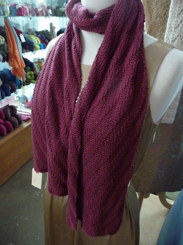 Close Knit Silk Scarf