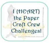 PAPER CRAFT CREW CHALLENGES