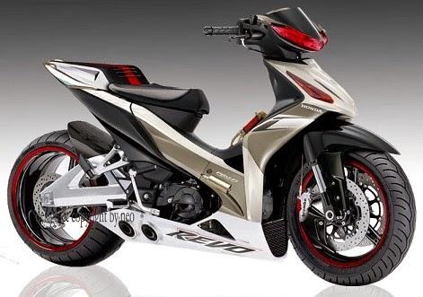 ... -gambar modifikasi motor revo Honda Terbaru Keren sporty dan Gaul