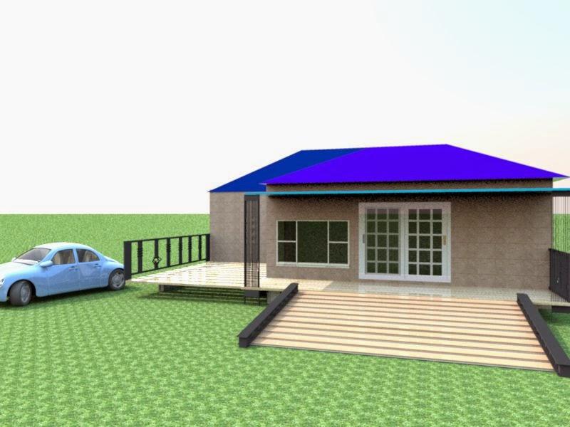 model rumah di daerah rawa