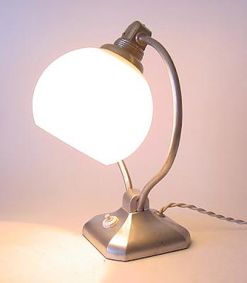 Art Deco Antique Lamp