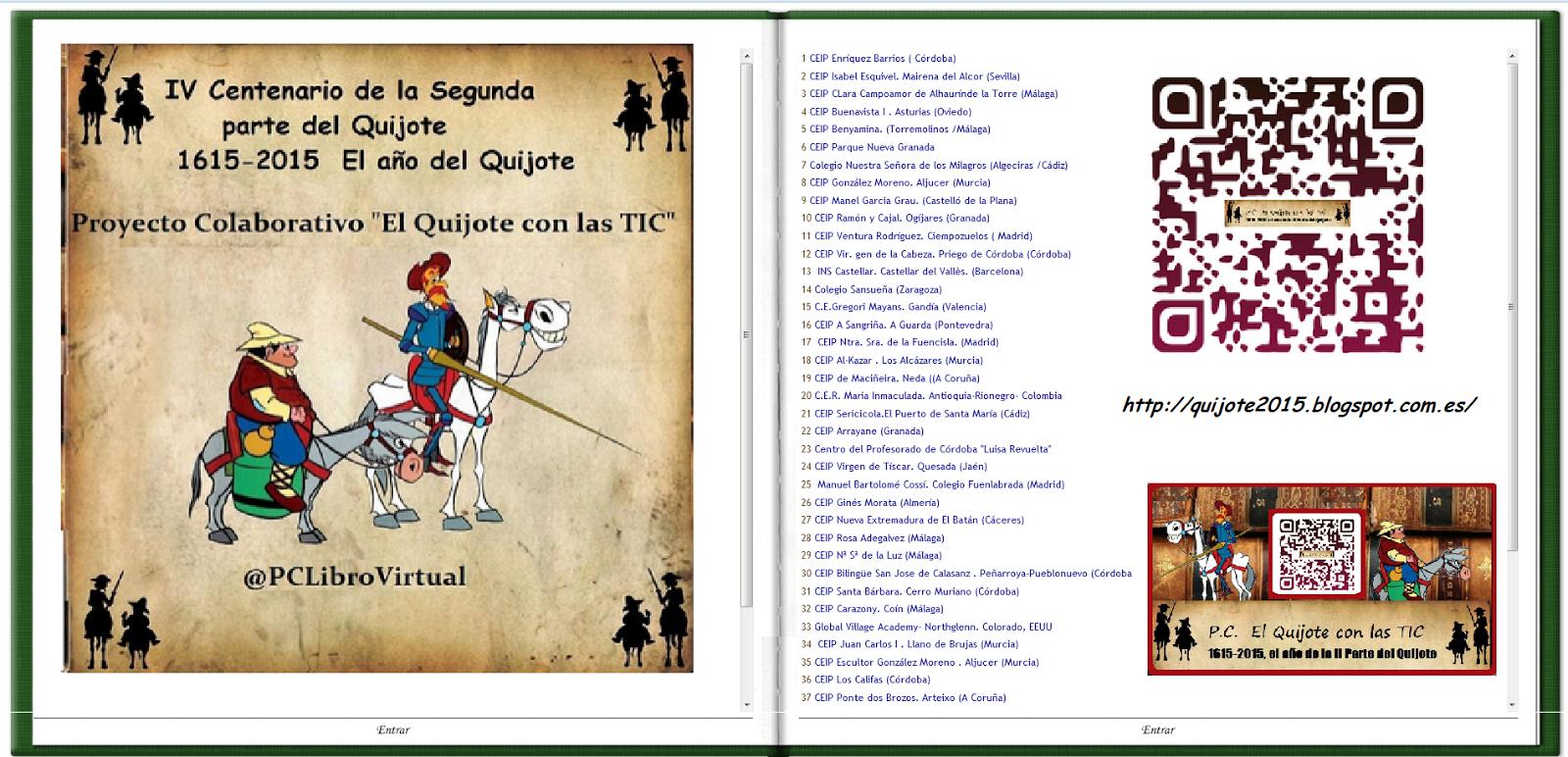 Proyecto Colaborativo El Quijote con las TICS