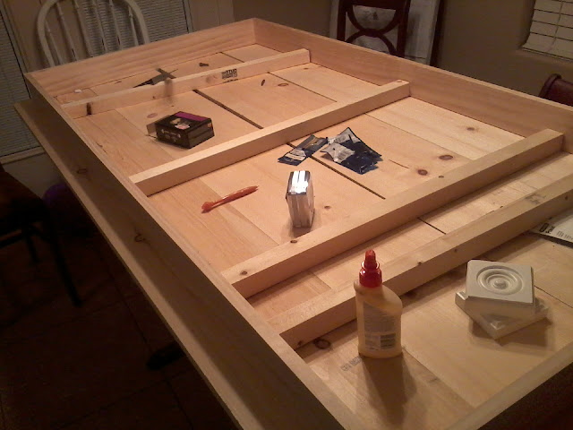 home made kitchen table