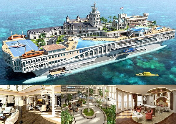 unique collections yacht island design a budget of 1 1 billion dollars