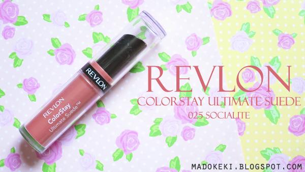 Revlon ColorStay Ultimate Suede 025 Socialite