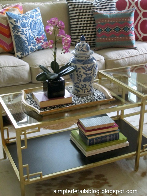 Ikea Vittsjo Nesting Tables - they're so versatile, they come as a set - Ikea Vittsjo Coffee Table IDI Design