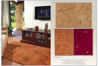 Tappeto Cameretta Lilla : Tappeto arancione marrone lilla salotto soggiorno camera da letto