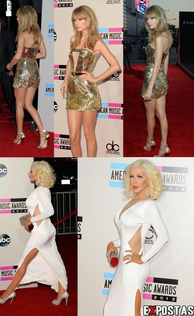 Christina Aguilera e Taylor Swift
