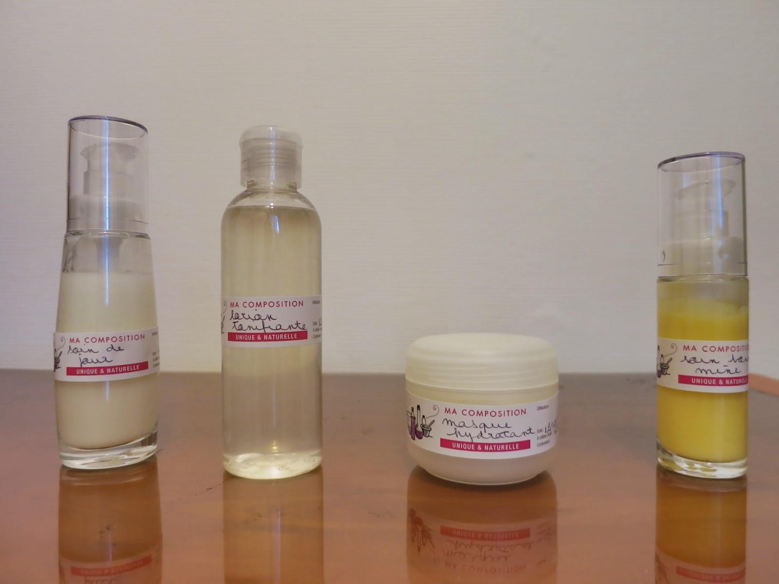 soins visage aroma zone